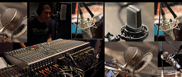 professional audio recording