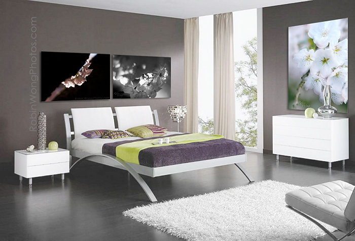 bedroom-decorating-with-Fine-Art-photos