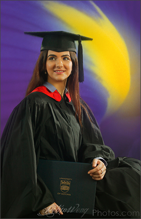 graduation studio photography