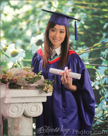 new way of studio graduation photography
