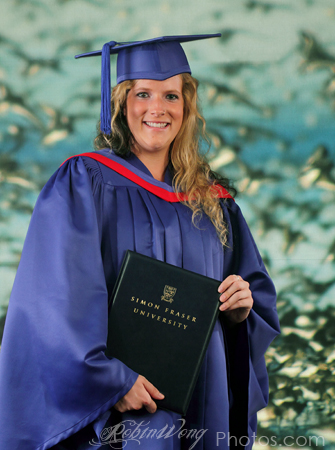 SFU graduation photography